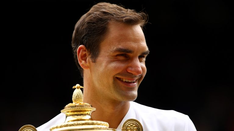 Roger Federer is a 19-time Grand Slam champion