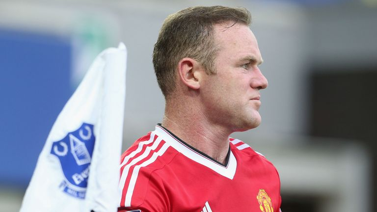 Rooney was limited to just 15 Premier League starts while United club captain last season