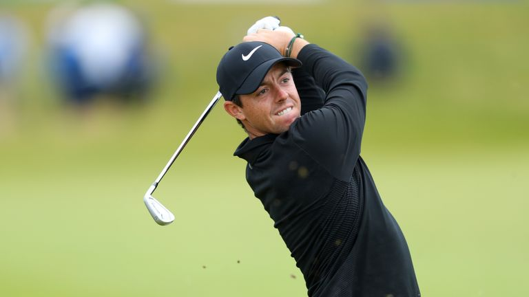 McIlroy was happy with his long game on an ideal day for scoring at Portstewart