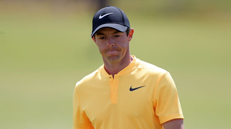 Rory McIlroy finished well, but the damage had been done on opening day