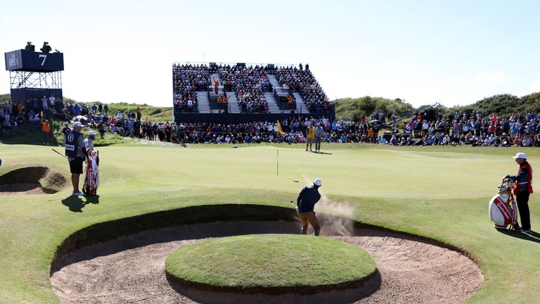 Spieth delighted with Open start
