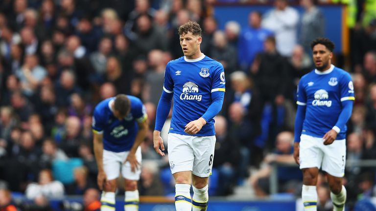 Ross Barkley is out of contract at Everton next summer
