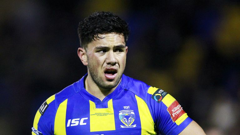 Warrington's Andre Savelio put the result beyond doubt two minutes from time