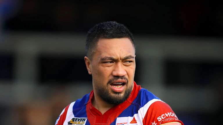 Wakefield's Tinirau Arona has been charged for kicking out