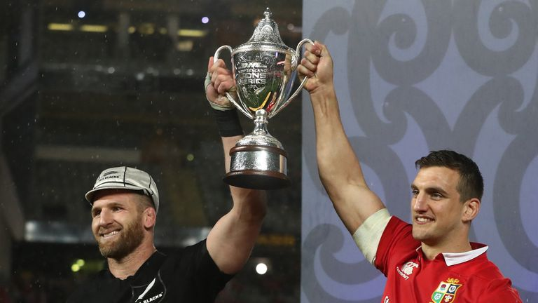 The Lions drew 1-1 in their series with New Zealand