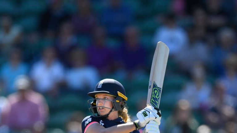 Sarah Taylor scored 396 runs for England in the 2017 ICC Women's World Cup