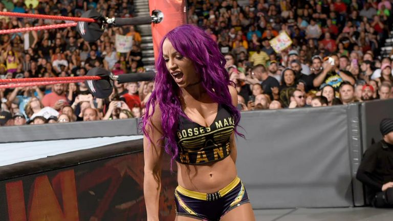 Sasha Banks stood tall over Nia Jax after coming to Bayley's aid.