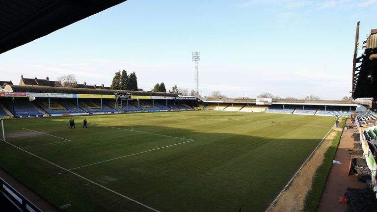 Simon Dobbin was attacked after attending a Cambridge United match against Southend at Roots Hall (pictured)