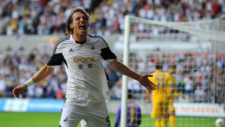 Former Swansea striker Much has retired from football at the age of 31