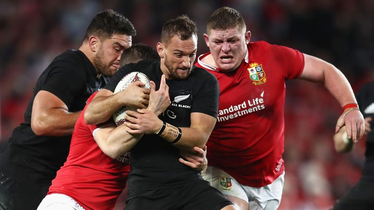 WATCH: Highlights from All Blacks vs British and Irish Lions second Test