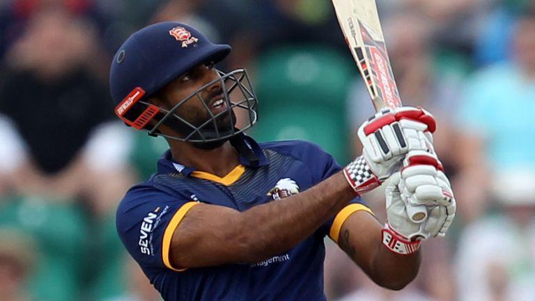 Varun Chopra struck eight sixes in his 59-ball salvo