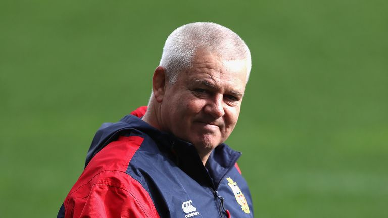 Warren Gatland took charge of the 2017 Lions tour of New Zealand.