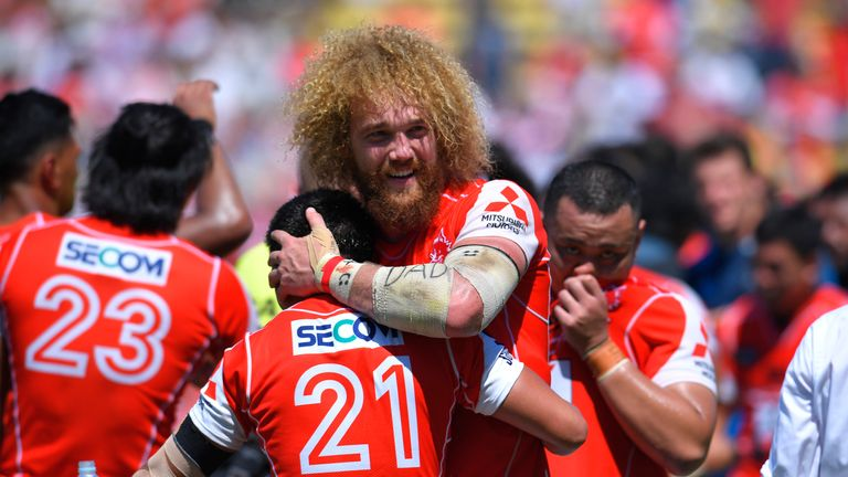 It was a Saturday to remember for captain Willie Britz and the rest of the Sunwolves