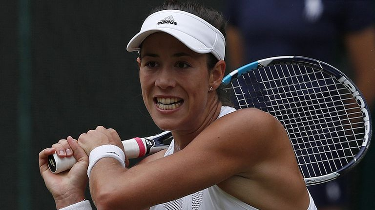 Muguruza acknowledges Martinez impact in Wimbledon run