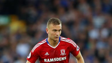 Middlesbrough defender Ben Gibson is attracting interest from West Brom
