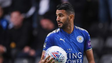 Riyad Mahrez featured for Leicester against Wolves but the Foxes lost 1-0