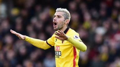 Valon Behrami has returned to Serie A with Udinese after leaving Watford for an undisclosed fee