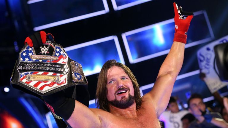 AJ Styles won back the U.S. Championship on one of the most dramatic Smackdowns in months.