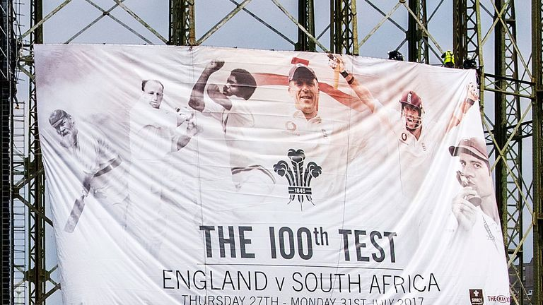 Welcome to the 100th Test at the Oval
