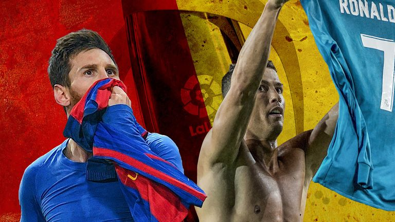 The world's two best players meet in the first El Clasico of the season live on Sky Sports on December 23