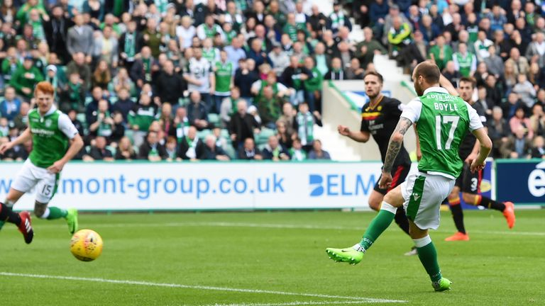 Boyle levels matters at Easter Road