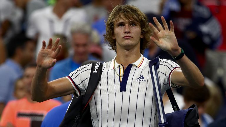 Another disappointing tournament for Alexander Zverev