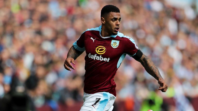 Andre Gray has joined Watford for a club-record fee