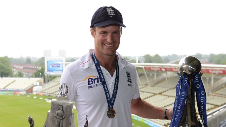 Andrew Strauss made two centuries as England won the series 2-0