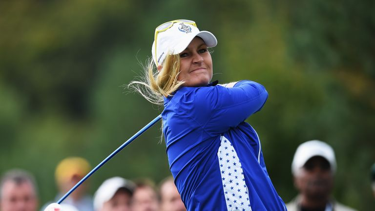 Anna Nordqvist is fit to play despite a recent battle with glandular fever