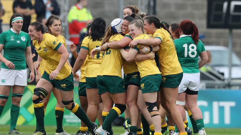 Australia avenged their Round 1 defeat to Ireland with victory over them on Tuesday