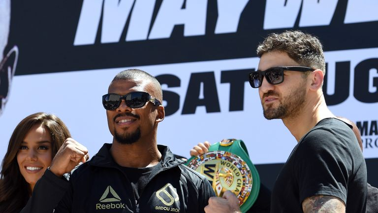 The WBA champion will face Jack in the early hours of Sunday morning, live on Sky Sports Box Office
