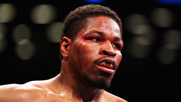 Shawn Porter has withdrawn from his upcoming fight