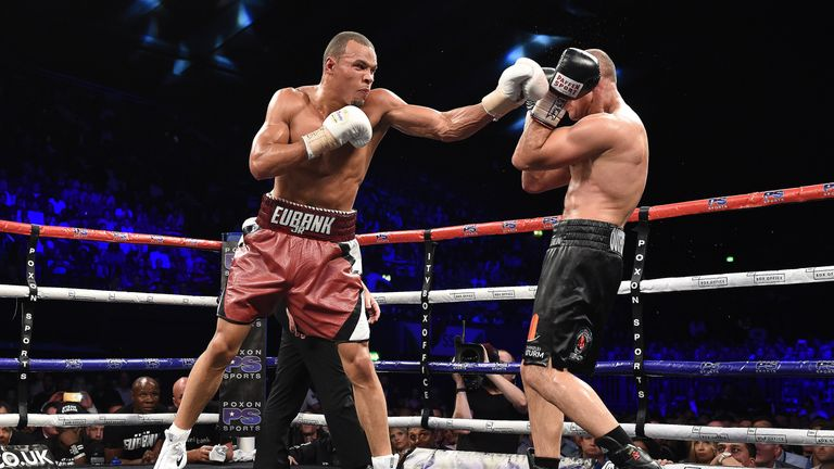 Eubank Jr completed a dominant unanimous decision win over Arthur Abraham
