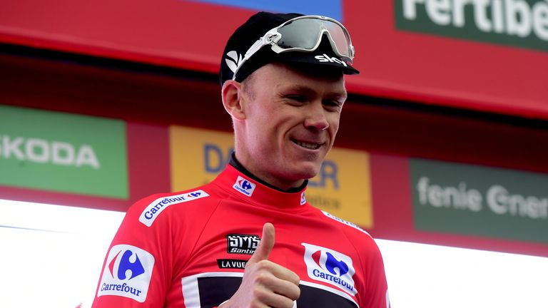Trentin wins his 2nd Vuelta stage; Froome keeps overall lead