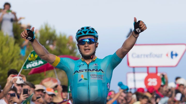 Vuelta a Espana 2017: Vincenzo Nibali's Win Highlights Stage 3 Results