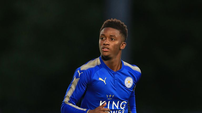 The 21-year-old has made two Premier League starts for Leicester this season