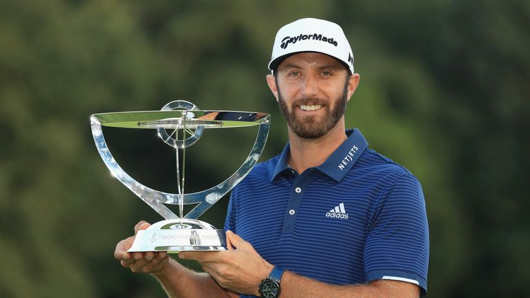 Johnson's win moves him back top of the FedExCup standings