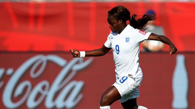 Aluko has made 102 international appearances