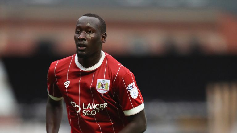 Famara Diedhiou is Bristol City's record signing