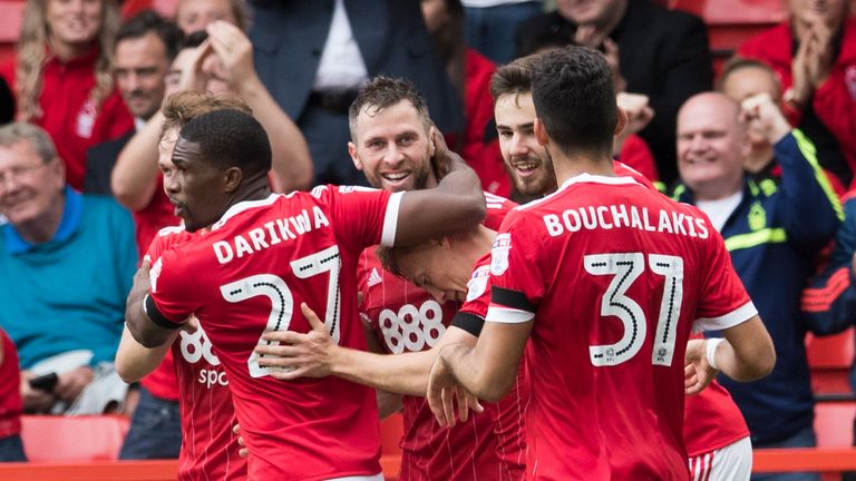 Nottingham Forest will bid to knock out holders Arsenal