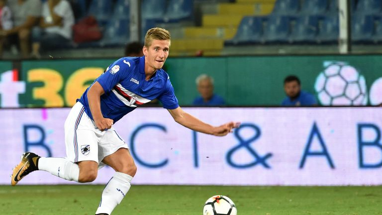 Sampdoria midfielder Dennis Praet is a target for Newcastle