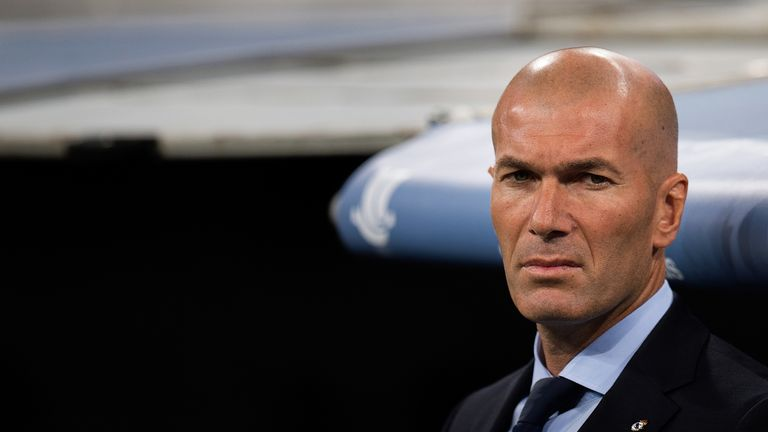 Zinedine Zidane says Real Madrid have reponsded well to talks earlier in the week