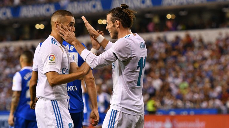 Real Madrid Romps to 3-0 Away Win over Deportivo