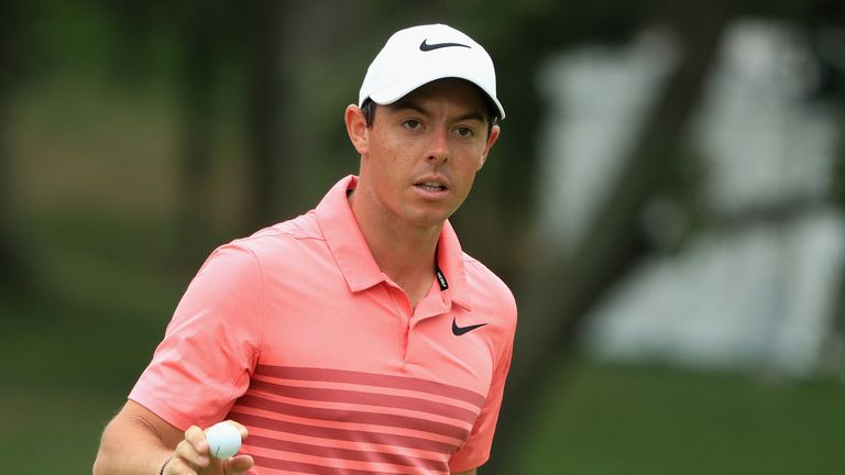 McIlroy lies seven strokes off the lead after the opening two rounds
