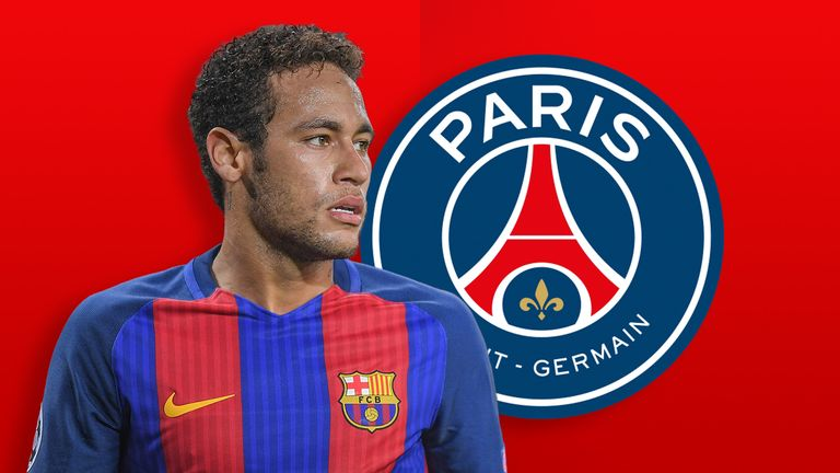Neymar has signed a five-year contract with the French club