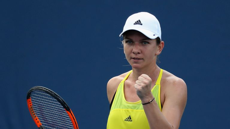 Muguruza to meet Halep in Cincinnati final