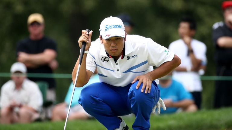 Matsuyama birdied the last three holes to finish in style