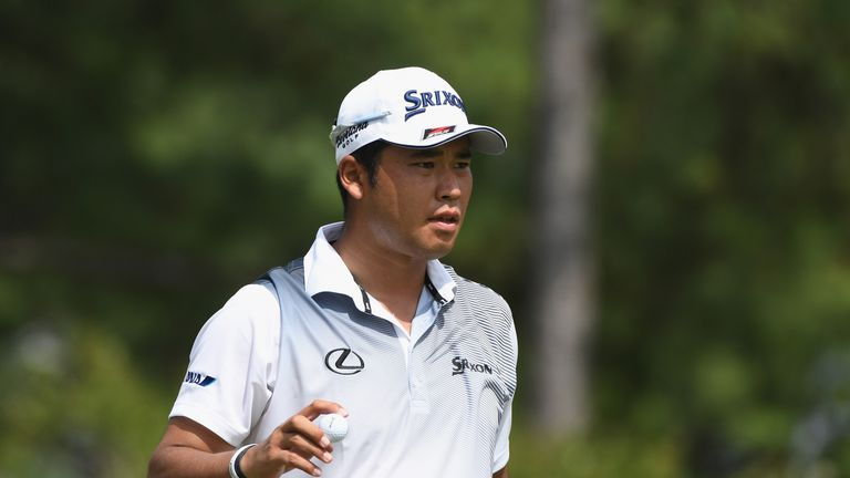 Hideki Matsuyama made five bogeys on the back nine