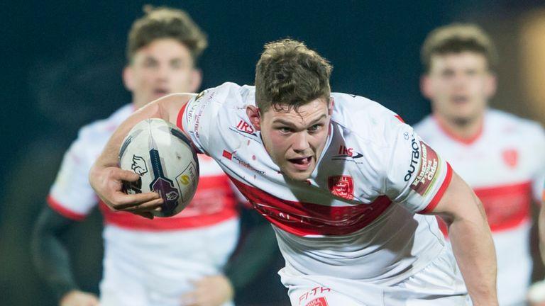 Robbie Mulhern crossed for Hull KR against London Broncos
