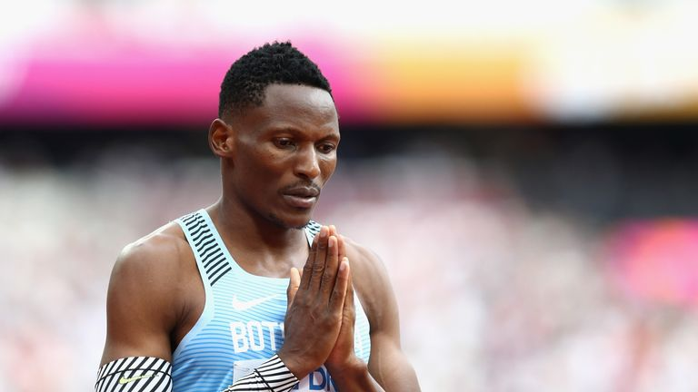 Isaac Makwala will be hoping for better health this week after being forced to pull out of his 200m heat